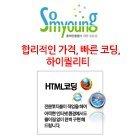 html 코딩대행 전문