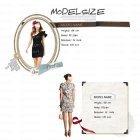 모델사이즈표 18