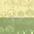 심플나무나뭇잎3종