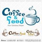 커피 앤 푸드 로고 1