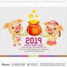 돼지띠 연하장 팝업 14