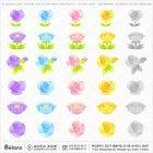 PSD 꽃 아이콘 30종 01
