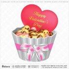 발렌타인 하트와 초콜릿