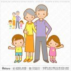 조부모와 손주 손녀캐릭터
