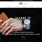 영문 기업형 브랜드M01