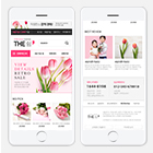 더쉼 핑크 모바일 ■ 꽃