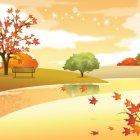 가을 배경이미지 5