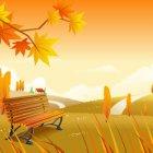 가을 배경이미지 6