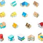 건물 아이콘 10