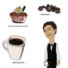 커피숍 아이콘 1