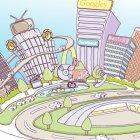 도시풍경 8