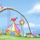 놀이공원 이미지 1
