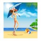 해변의 여인 5