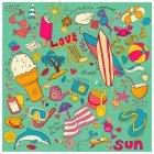 여름 아이콘 5
