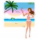 해변의 여인 10