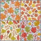 가을배경 패턴 2